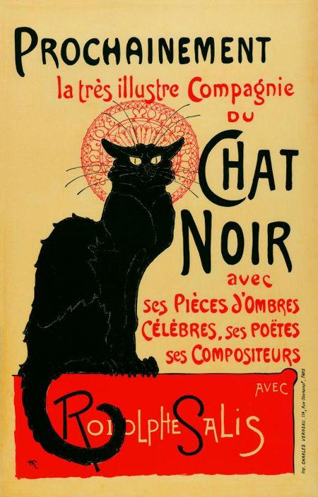 Guggenheim steinlen-prochainement-la-tres-illustre-compagnie-du-chat-noir-(1896 blog)