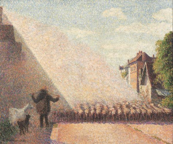 pissarro-moutons Eragny blog
