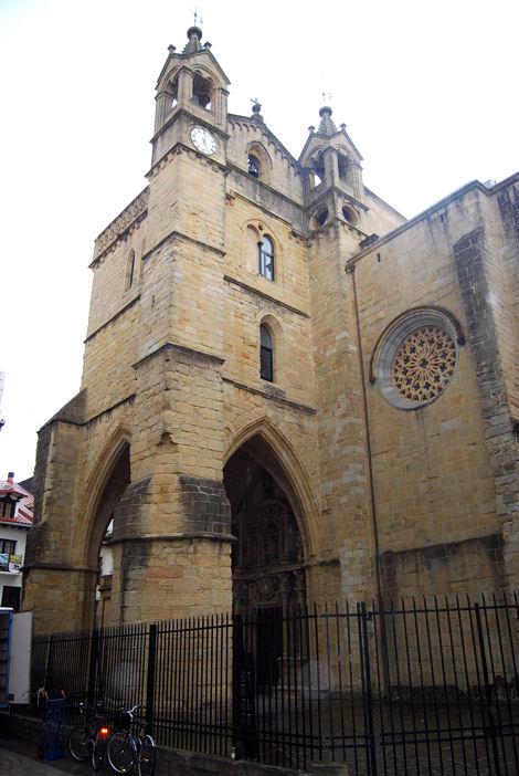 San Sebastian blog église San Vicente 1