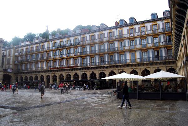 San Sebastian blog Plaza Constitucion 1