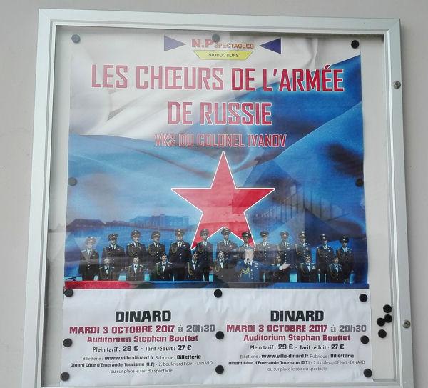 Dinard 2017 affiche Armée rouge blog