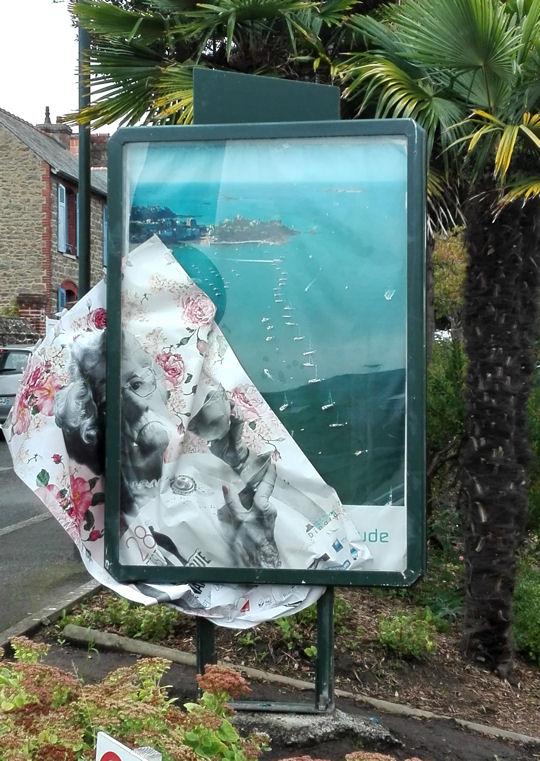 Dinard 2017 affiche déchirée blog
