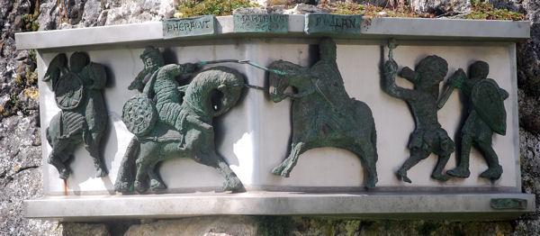 Roncevaus stèle bataille blog 2