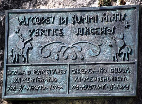 Roncevaus stèle bataille blog 3