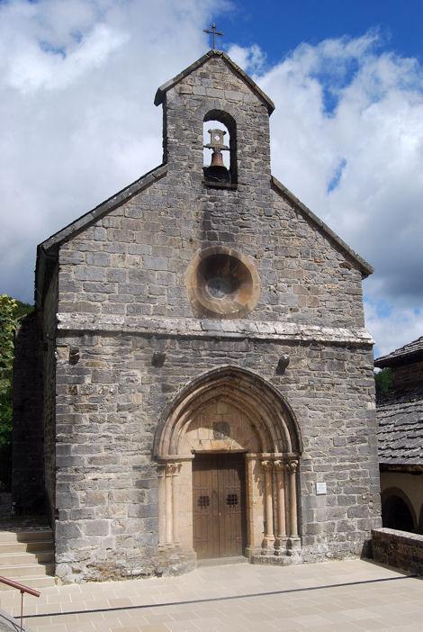 Roncevaux chapelle Santiago blog