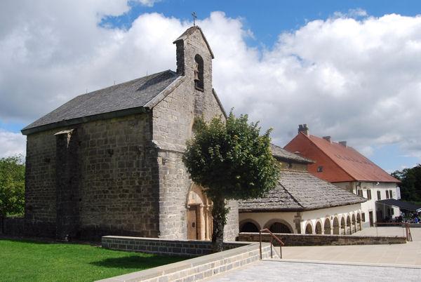 Roncevaux chapelle Santiago et Esprit saint blog