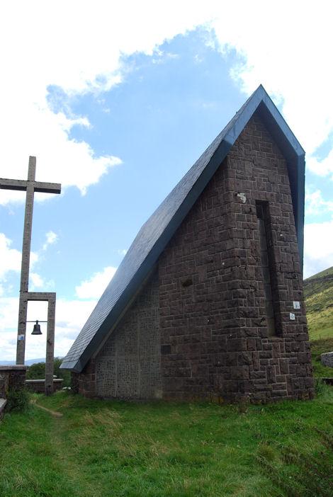 Roncevaux Ibaneta chapelle blog