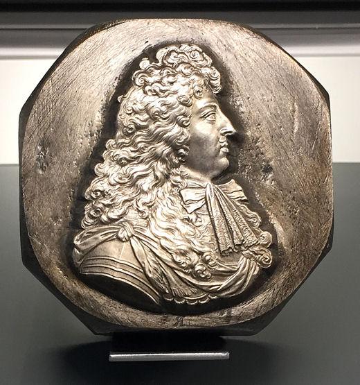 Monnaie poinçon Louis XIV blog