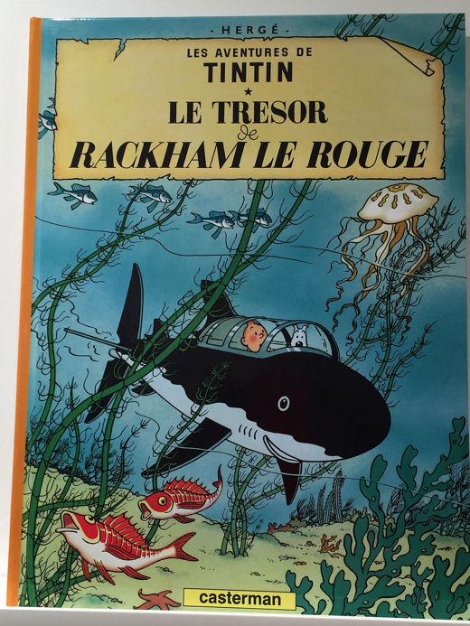 Monnaie Tintin blog