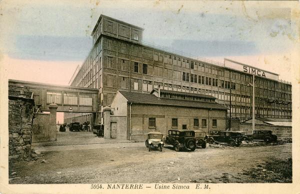 usine simca
