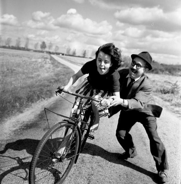 Doisneau leçon de vélo (1961)