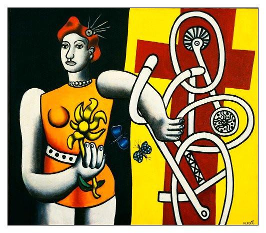 Fernand Léger-la-grande-julie