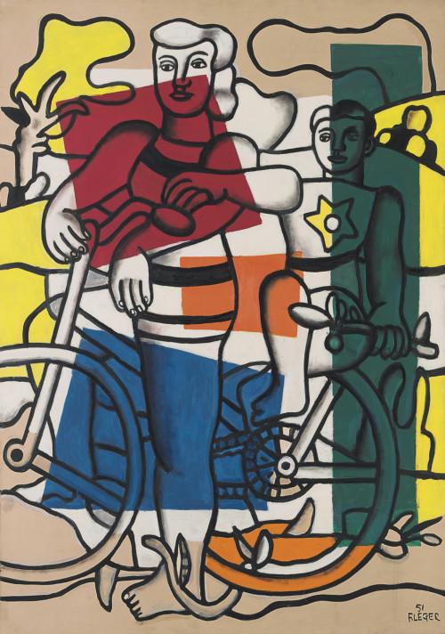 Fernand Léger la mère et l'enfant