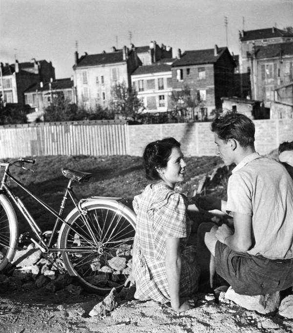 Le vélo du printemps Doisneau