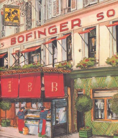 Menu Bofinger