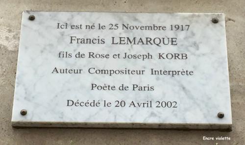 Rue de Lappe 20