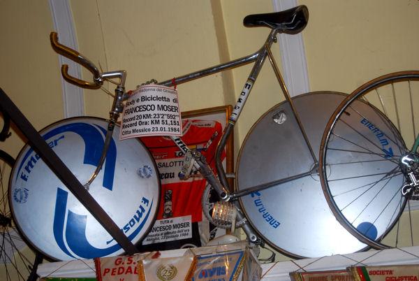 Ghisallo 7 vélo Moser  blog
