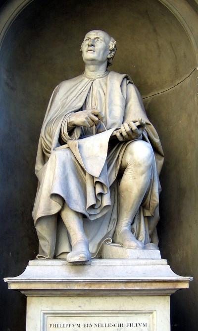 statue-Bunelleschi