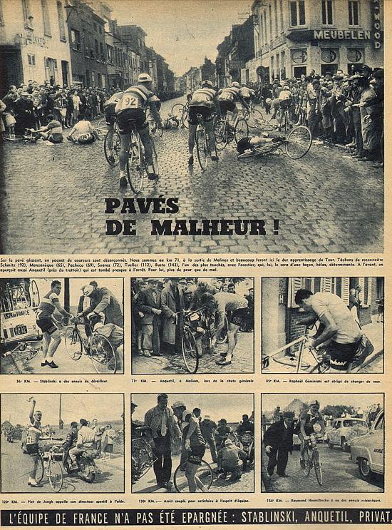 Blog Bruxelles Gand chute Anquetil