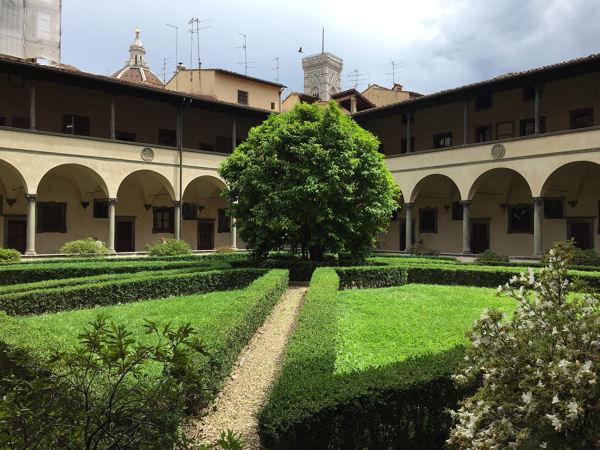 San Lorenzo cloître 1 blog