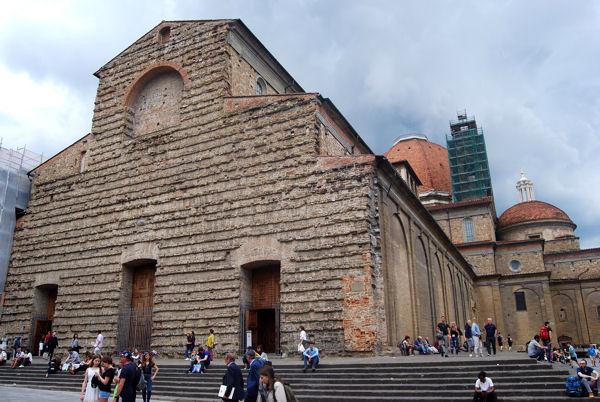 San Lorenzo façade blog