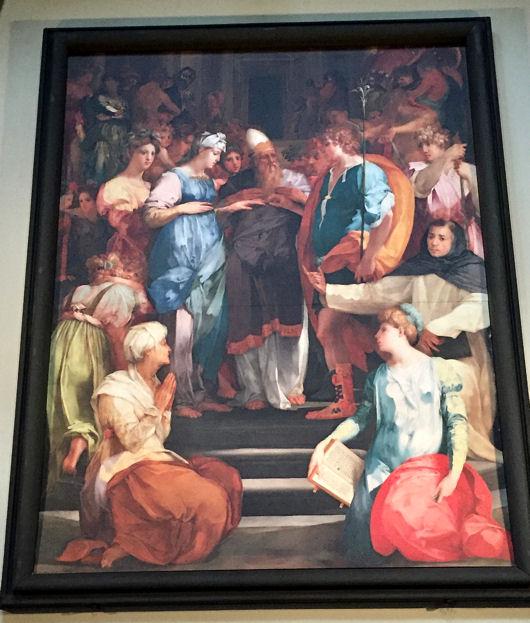 San Lorenzo mariage de la Vierge blog