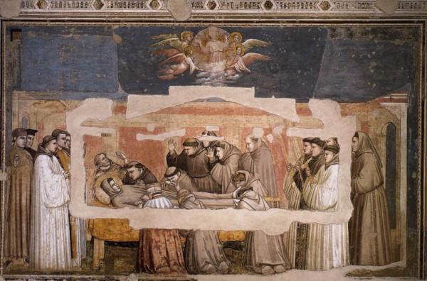 Santa Croce mort de Saint François 1