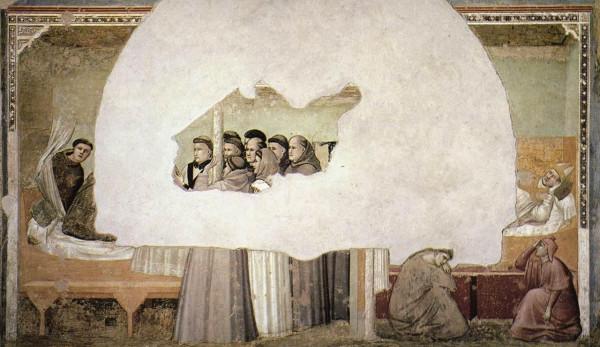 Santa Croce mort de Saint François 4