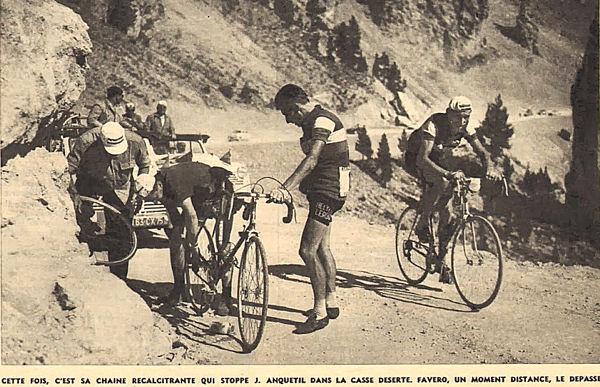 Blog  Anquetil crève Izoard
