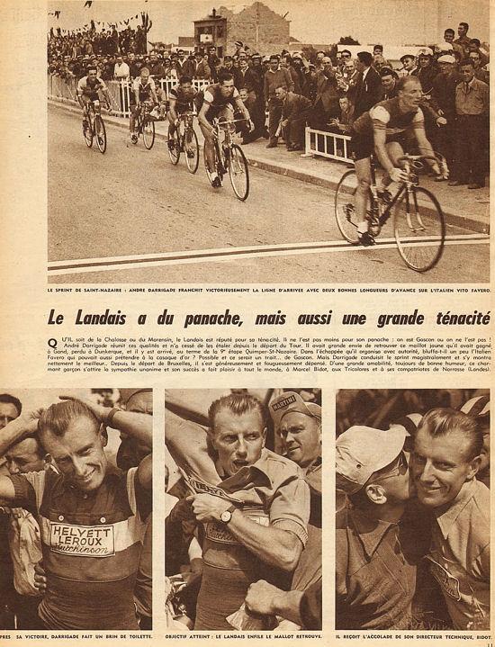 Blog Quimper-St-Nazaire sprint Darrigade