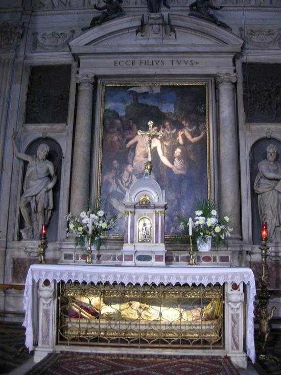 san Marco reliquaire de Saint Antonin de Florence