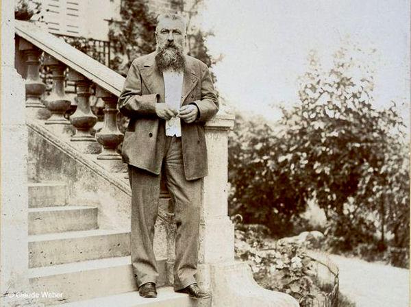 Blog Rodin sur son perron