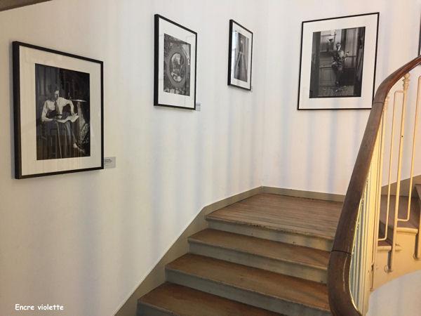 expo Ronis escalier blog