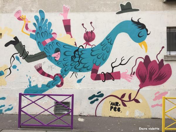 Menilmontant rue du Retrait blog 3