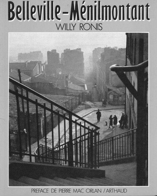 Ronis livre Belleville Menilmontant blog