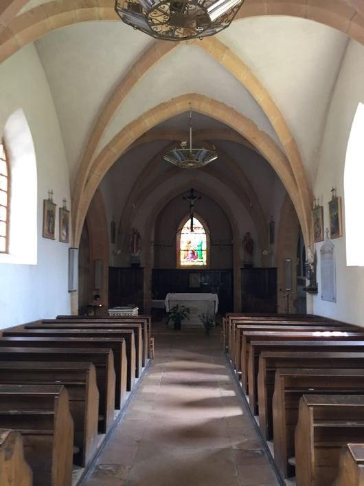Blog Sainte-Paule église intérieur