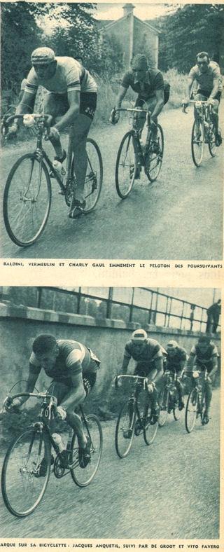 Blog 1ère étape Baldini Anquetil