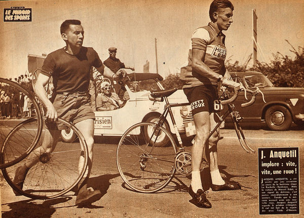 Blog Tour 1959 Anquetil La Rochelle- Bordeaux