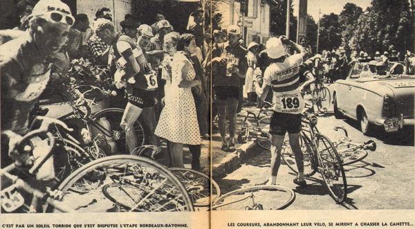Blog Tour 1959 canicule Bordeaux-Bayonne