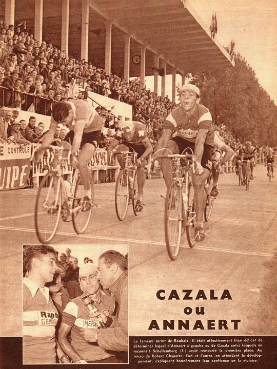 Blog Tour 1959 Cazala sprinte à Roubaix 1