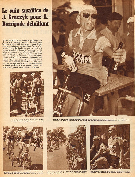 Blog Tour 1959 Darrigade Bordeaux- Bayonne 1