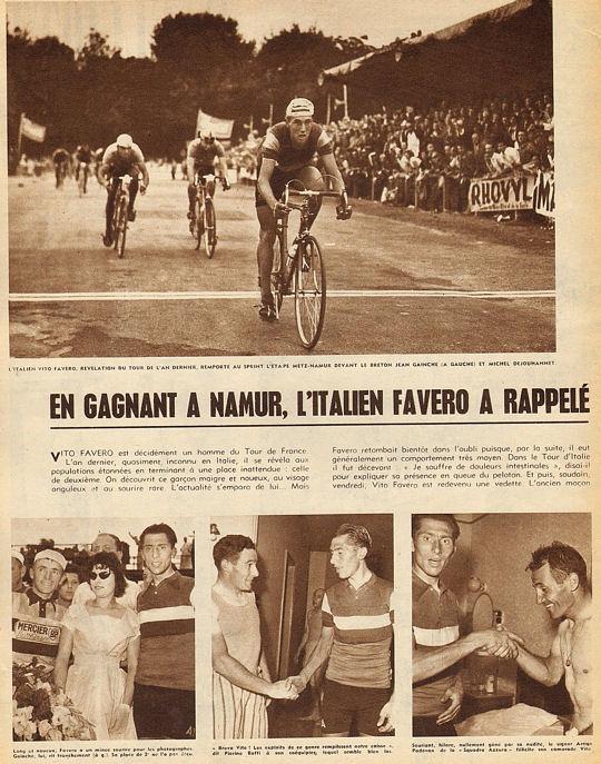Blog Tour 1959 Favero à Namur