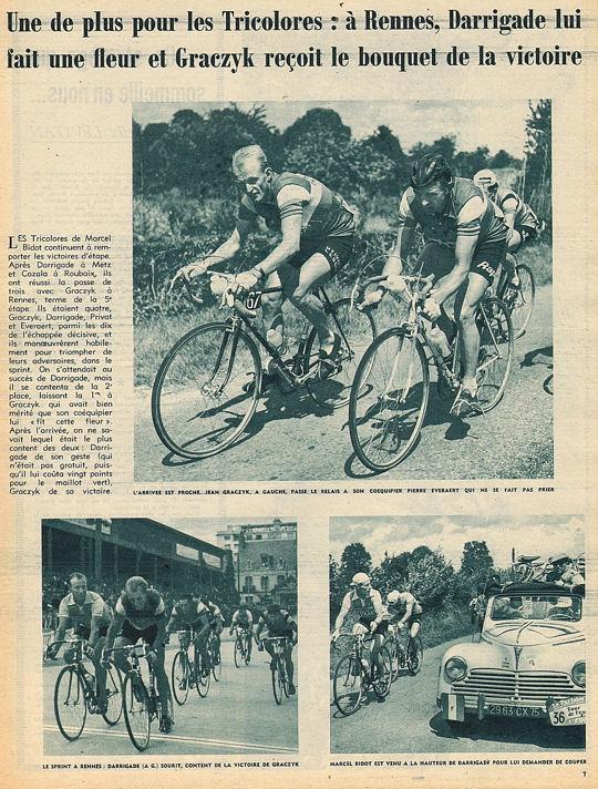 Blog Tour 1959 Graczyk  vers Rennes