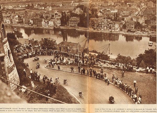 Blog Tour 1959 montée citadelle Namur