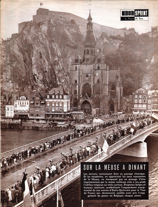 Blog Tour 1959 pont de Dinant