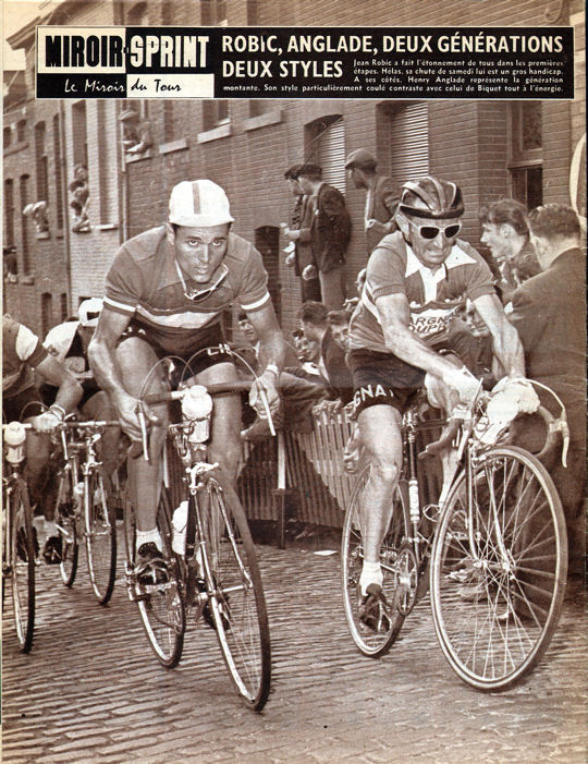 Blog Tour 1959 Robic mur de Grammont