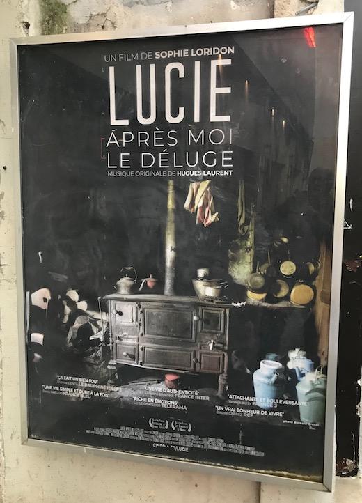 Affiche Lucie