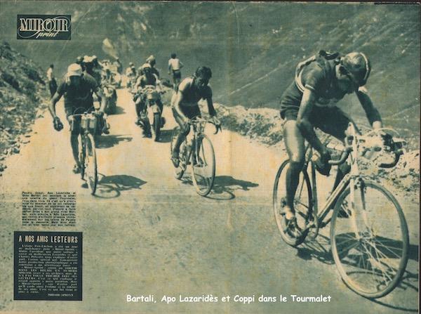 Bartali Lazarides Coppi dans Tourmalet1949-07-13+-+Miroir+Sprint+-+16