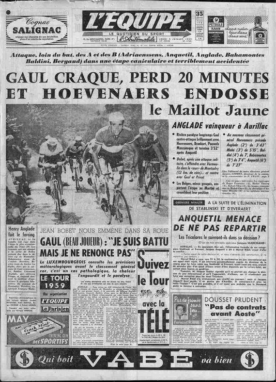 Blog L'Equipe Aurillac Tour 59