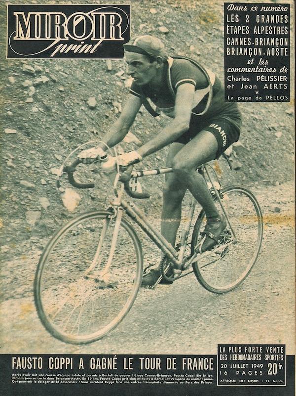 Coppi a gagné le Tour1949-07-20+-+Miroir+Sprint+-+01